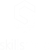 Skills Shop White Logo